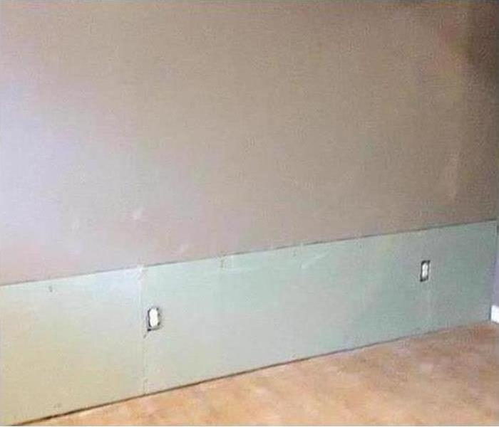 Mold removed and dry wall replaced in home