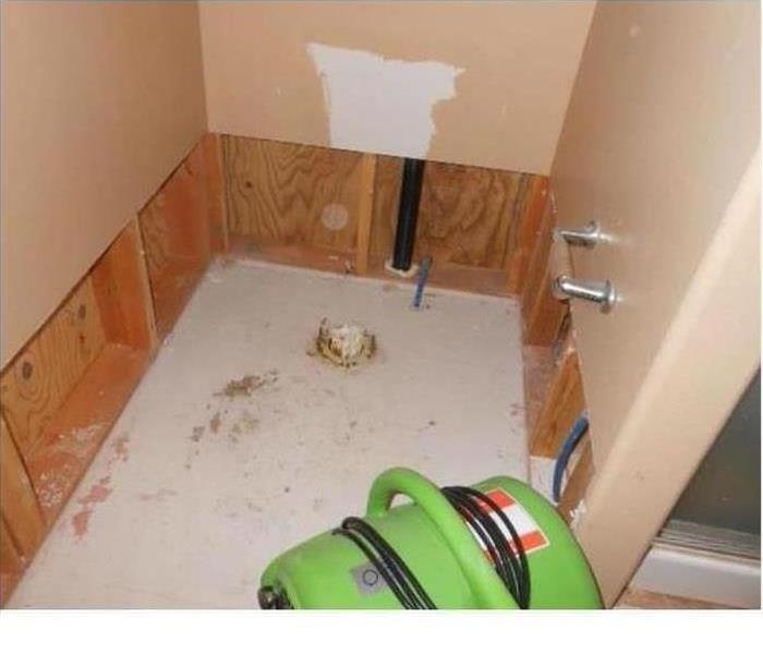 flooring with water damage