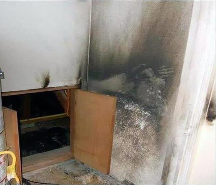 Fire Damage in Local home